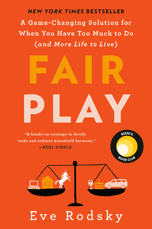 """Image of the book """"fair play"""" by eve rodsky"""